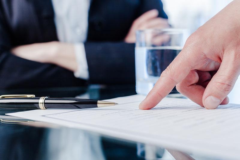 Bild Anforderungen einer Anklageschrift wegen Steuerhinterziehung